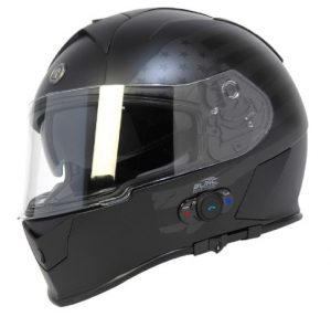 Bluetooth-integrated-full-face-motorcycle-helmet